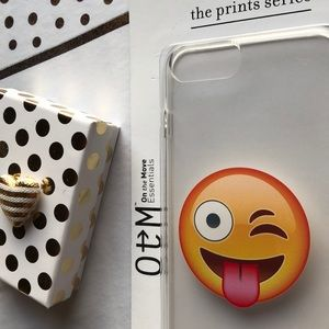 Other - Emoji Phone Case for iph 6 & 7plus NIB